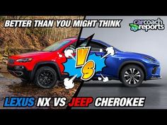 Lexus NX vs Jeep Cherokee - Better Than You Might Think