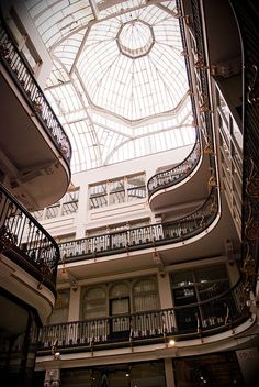 Victorian-style Barton Arcade in Manchester, UKby ming