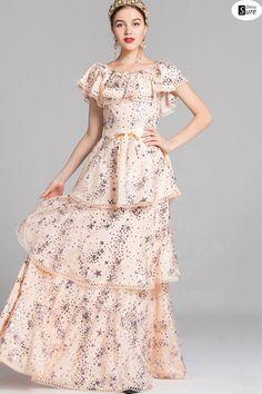 a8162d3ad43e Lolita Sleeveless Square Neck Maxi Dress