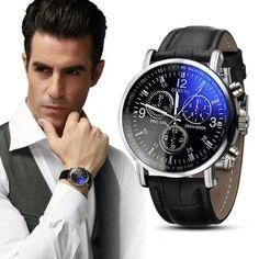 Now available on Wrist Gear Enterprises online store: 2018 Faux Leather...  Check it out here: http://wristgearenterprises.com/products/2018-faux-leather-mens-analog-watch-watches-uhren-el-reloj-lorologio-reloj-para-hombres-herrur-maends-ur-montre-pour-homme-herre?utm_campaign=social_autopilot&utm_source=pin&utm_medium=pin