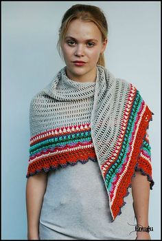 Ravelry: Sunday Shawl pattern by The Little Bee ~ Alia Bland
