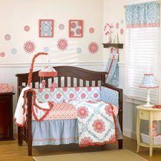 Dahlia Bedding by Cocalo - Baby Crib Bedding - 7133-835