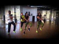 ZUMBA Yandel - Plakito ft. El General Gadiel BY HONDURAS DANCE CREW - YouTube