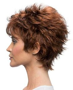 Today we have the most stylish 86 Cute Short Pixie Haircuts. We claim that you have never seen such elegant and eye-catching short hairstyles before. Pixie haircut, of course, offers a lot of options for the hair of the ladies'… Continue Reading → Shaggy Short Hair, Short Hairstyles For Thick Hair, Short Pixie Haircuts, Short Hair With Layers, Short Hair Cuts For Women, Curly Hair Styles, Natural Hair Styles, Pretty Hairstyles, Short Fringe
