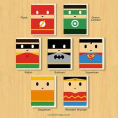 Super cute Superhero Valentine's Day Cards – Livbit