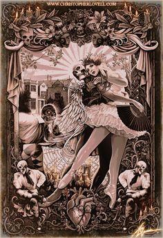 The Black Heart Ballet by Christopher Lovell