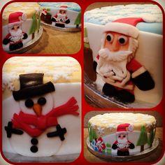 Christmas cakes 2012. Find me at facebook.com/tikisbakehouse or tikisbakehouse.blogspot.co.uk