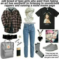 Winter Fashion For Teen Girls Picture Ideas - Unity Fashion Hipster Outfits, Mode Outfits, Grunge Outfits, Grunge Fashion, Curvy Fashion, Winter Fashion For Teen Girls, Teen Fashion, Fashion Outfits, Womens Fashion