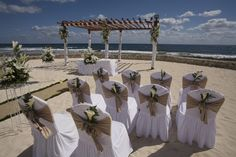 Grand Bahia Principe Riviera Maya Resort setup #weddings #destinationweddings #rivieramaya www.bahiaprincipe.com