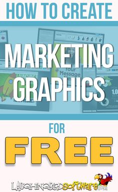 Easy Marketing Graphics: Learn how to design visual content and graphics for your blog or website for Free. You don\'t need to be a graphic designer. Professionally created graphic design templates make it easy.