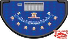Custom Blackjack Layout Designs - Florida Casino Entertainment by Casinosupply.com