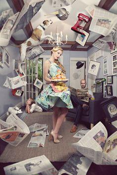 Domestic Chaos by Shawn Van Daele