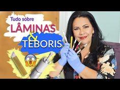 LÂMINAS E TEBORIS TIPOS E FUNÇÕES   Materiais para Microblading! - YouTube