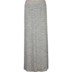 FULL TILT Melange Maxi Skirt ($25) ❤ liked on Polyvore