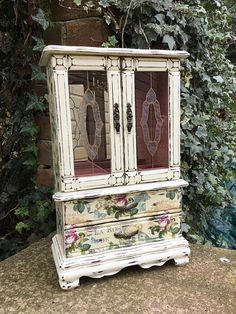 Rustic Jewelry Armoire Shabby Chic Jewelry Armoire Rustic Jewelry Organizer Wood Jewelry