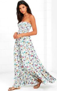 california-sunrise-cream-floral-print-strapless-maxi-dress