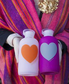 heart water bottles