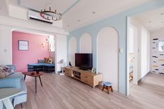 Apartamento Colorido, Alegre e Descontraído -