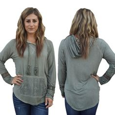 """Top- $42  Elisha is 5' 3"""" and wearing a small  #239C ***How to Order…"""