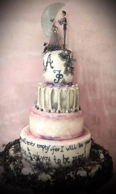 Corpse Bride Wedding Cake - corpse-bride Photo | The Wedding ...