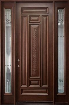 Are you looking for the best wooden doors for your home that suits perfectly? Then come and see our new content Wooden Main Door Design Ideas. Main Entrance Door Design, Wooden Front Door Design, Double Door Design, Single Main Door Designs, House Main Door Design, Wood Entry Doors, Wood Exterior Door, The Doors, Wooden Doors