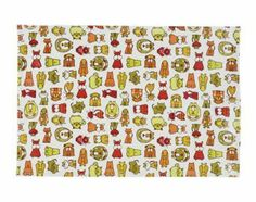 "SugarBooger Kids Tabletop Place Mat- BowMeow by SUGARBOOGER. $9.00. Measures 13 x 19"". Wipe clean, line dry. Coated cotton tabletop splat mat with matryoshka doll graphics. Protects table surfaces. Non-toxic and lead free. Made of non-toxic, coated cotton, the SugarBooger Tabletop Splat Mat measures 13 x 19 inches. Wipe clean, line dry. All our vinyl-related products are non-toxic and lead-free according to U.S., European, and Canadian standards. Celebrate the im..."