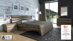 Bedroom Bed Design, Bedroom Sets, Modern Bedroom, Bedrooms, Bed Furniture, Furniture Design, Modern Design, Home Decor, Beds