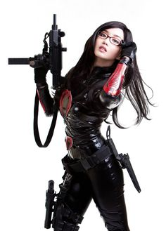 Baroness from GI Joe Cosplay Latex Cosplay, Cosplay Costumes, Female Cosplay, Halloween Costumes, Baroness Gi Joe, Video Game Cosplay, Nerd, Tokyo Otaku Mode, Armada