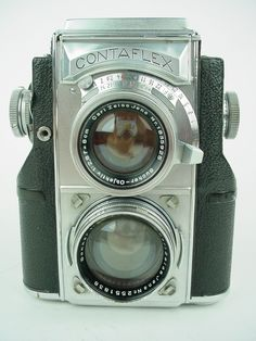 Zeiss Ikon Contaflex TLR Vintage 35mm Film Camera w Sonnar 5cm F 1 5 Very RARE | eBay