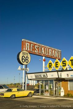 USA, New Mexico, Route 66, Santa Rosa, The Route 66 Restaurant