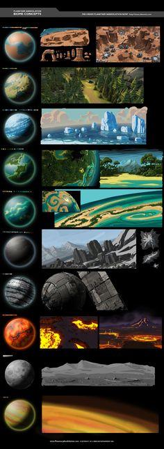 Biome Concept Art