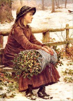 Christmas holly, ca.1900...
