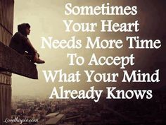 your heart knows