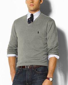 f730640b6ff190 Ralph Lauren  · Polo Sweater, Men Sweater, Style Décontracté, Simple Style,  Style Men, Croquis