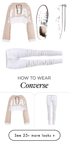 """""""2018 Chic"""" by rosaprincesa on Polyvore featuring Ivy Park and Converse"""