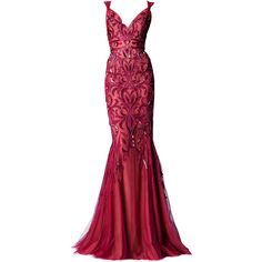 zuhair murad edited by metalheavy ❤ liked on Polyvore featuring gowns