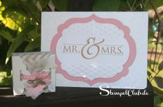 Leipzig stempelt - mit Stampin' Up!® Wedding, Mr. & Mrs., Hochzeitskarte