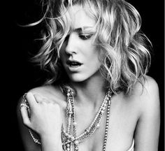 Naomi Watts in David Yurman jewelry ad. the black and white photography is stunning