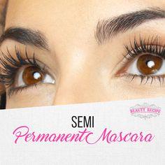 #MascaraTricks Mascara Tips, How To Apply Mascara, Applying Mascara, Skin Care Regimen, Skin Care Tips, Semi Permanent Mascara, Diy Face Scrub, Oil Free Makeup, Lots Of Makeup