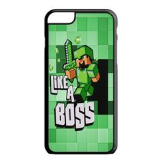 Minecraft Creeper Face iPhone 6S Case