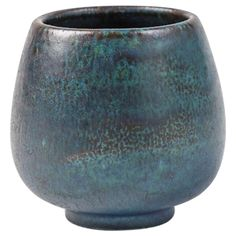 Elegant Small Stoneware Bowl by Henri Simmen | c1920 3.15in 6672