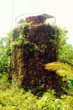 Koror lighthouse (ruins), Palau.