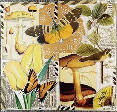 Collage Supplies Sporting Ephemera&paper Piece Color Sampler Lots~vtg Collage Art,junk Journal,mixed Media
