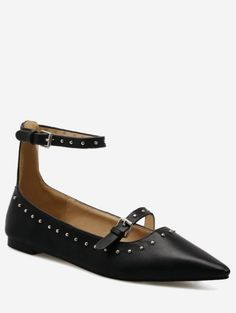 GET $50 NOW | Join Zaful: Get YOUR $50 NOW!https://m.zaful.com/buckle-strap-stud-ankle-strap-flats-p_369487.html?seid=8p8mjqm4doti6mto76pckmedv1zf369487