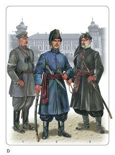 Ukrainian Army 1918 - 19, cavalry