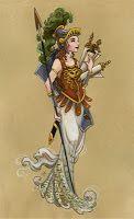 Джефф Дэвис Портфолио: греческие боги я
