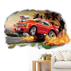 Miico Creative PVC Wall Stickers Home Decor Mural Art Removable Car Wall Decals - Banggood Mobile