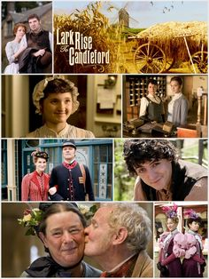 Lark Rise To Candleford-So wonderful! If you love Downton Abbey you will probably love this-the actor that plays Mr. Bates is even a main character :)