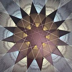 Yoga Studio Design, Yoga Studio Decor, Sri Yantra, Mandala Art, Psychedelic Art, Art Soleil, Yoga Kunst, Art Zen, Arte Linear