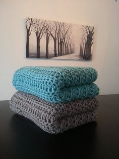 oversized throw blanket by MakeItCozyCrochet (Machon Regier) on Etsy!